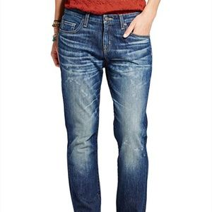 Medium Wash Boyfriend Stretch Denim Jeans